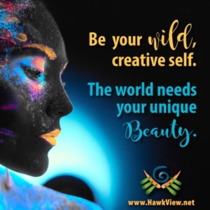 Be your wild creative self